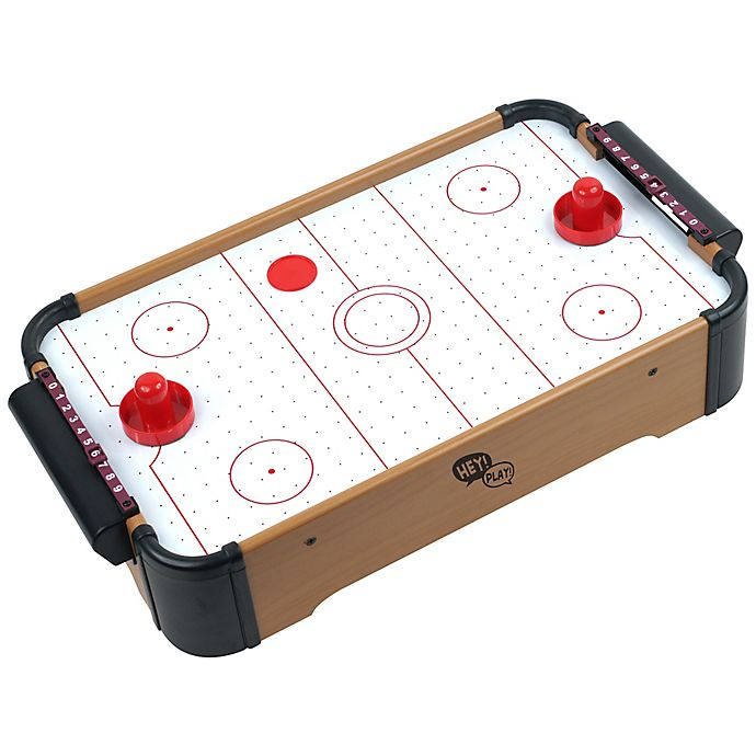 Alternate image 1 for Hey! Play! Mini Tabletop Air Hockey Game