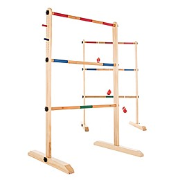 Hey! Play! Double Wooden Ladder Toss Game