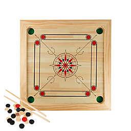Hey! Play! Carrom Strike & Pocket Table Game