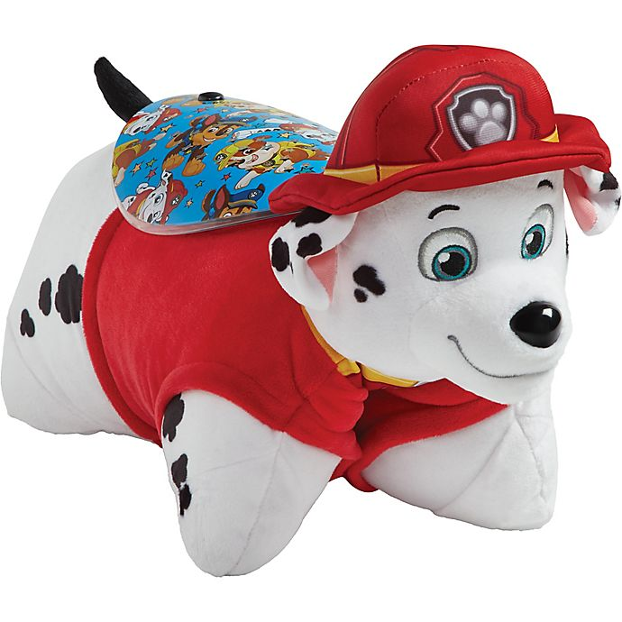Alternate image 1 for Pillow Pets® Nickelodeon™ PAW Patrol™ Marshall Sleeptime Lite Night Light Pillow Pet