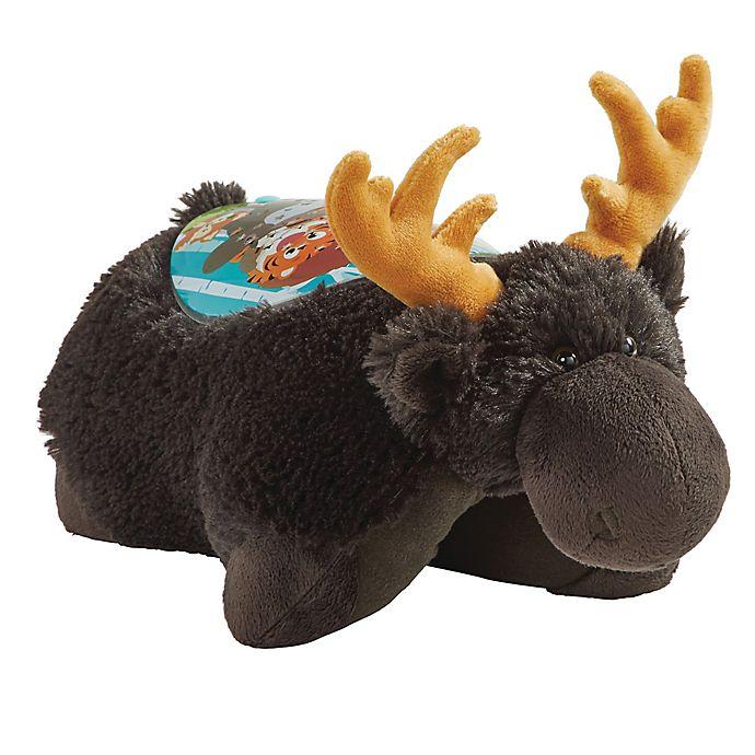 Alternate image 1 for Pillow Pets® The Wild Moose Sleeptime Lite Night Light Pillow Pet