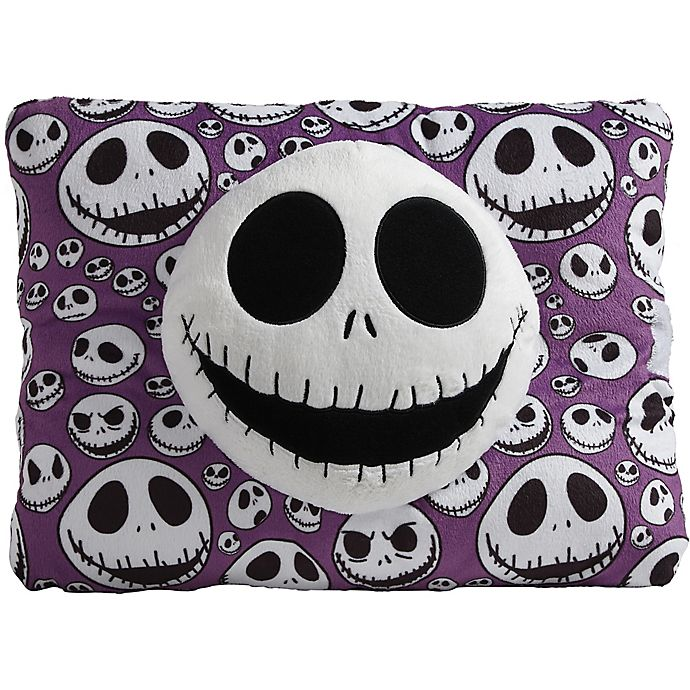 Alternate image 1 for Pillow Pets® The Nightmare Before Christmas Jack Skellington Pillow Pet in Purple