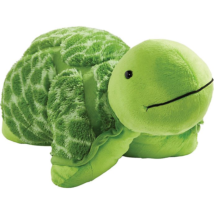 Alternate image 1 for Pillow Pets® My Signature Teddy Turtle Pillow Pet in Green