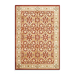 Safavieh Acanthus Scroll Area Rug in Red