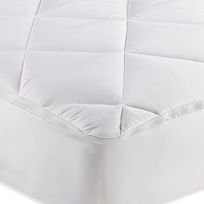 Alternate image 1 for MyFit Zip Mattress Pad in White