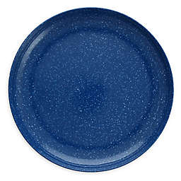 Camp 11-Inch Coupe Melamine Plates in Blue (Set of 6)