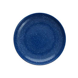 Camp 7-Inch Coupe Melamine Plates in Blue (Set of 12)