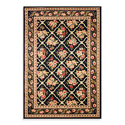 Safavieh Courtland 6-Foot 7-Inch x 9-Foot 6-Inch Room Size Rug in Black