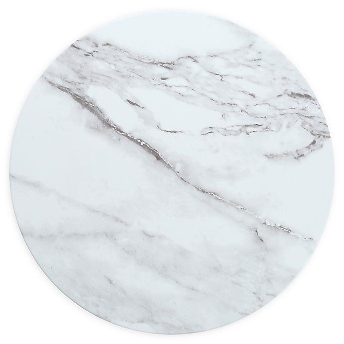 Alternate image 1 for Palace Bianco 13-Inch Melamine Round Platters (Set of 4)