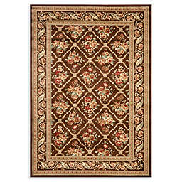 Safavieh Courtland 8-Foot 9-Inch x 12-Foot Room Size Rug in Brown