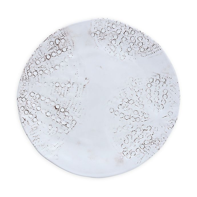 Alternate image 1 for Sanibel Melamine Dinner Plates in Sail White (Set of 6)