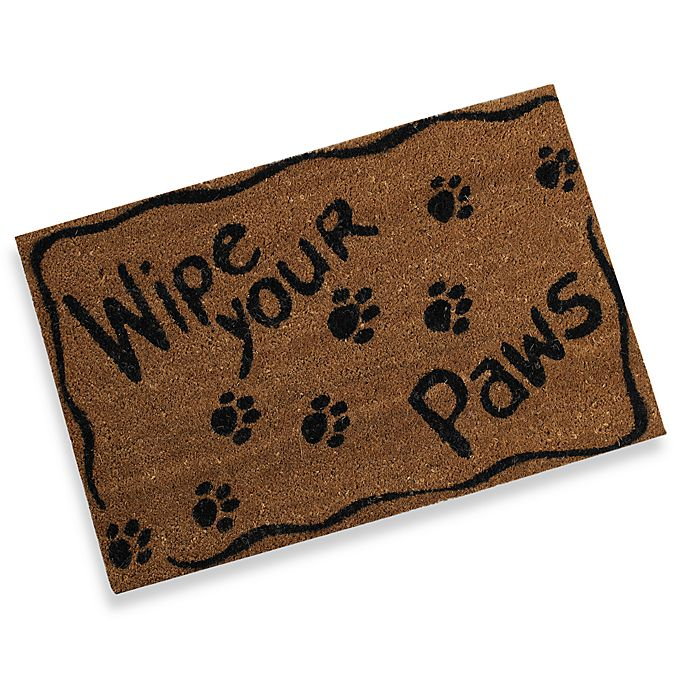 Alternate image 1 for Wipe Your Paws Door Mat