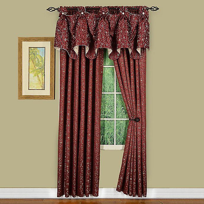 Alternate image 1 for Madison Window Curtain Panel and Valance