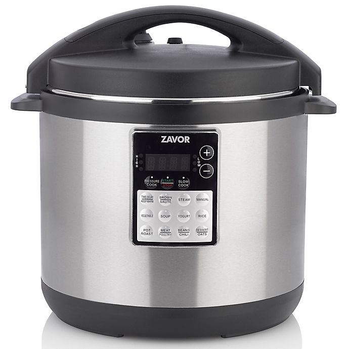 Alternate image 1 for Zavor LUX Edge Programmable Electric Multi-Cooker