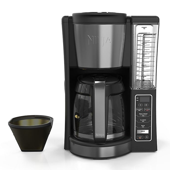 Alternate image 1 for Ninja®12-Cup Programmable Coffee Brewer in Black