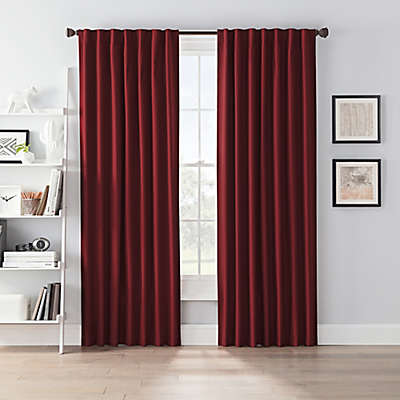 SmartBlock™ Chroma Rod Pocket 100% Blackout Window Curtain Panel
