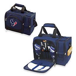 Houston Texans NFL Malibu Insulated Cooler/Picnic Basket