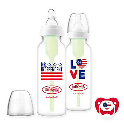 Dr. Brown's® Options 2-Pack 8 fl. oz. Bottles with Pacifier Collection