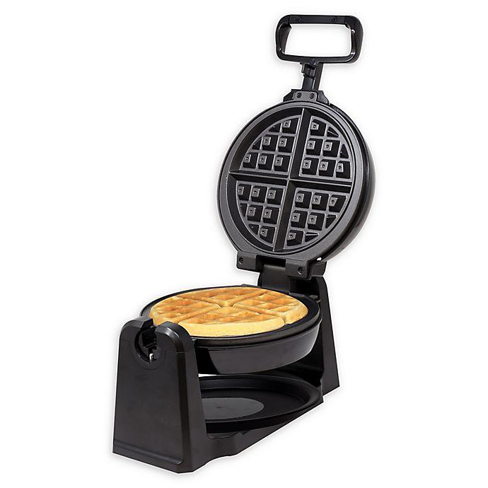 Alternate image 1 for Kalorik® Rotary Waffle Maker in Black