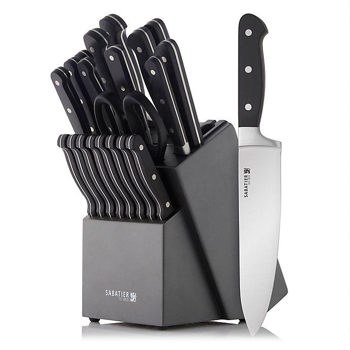 Sabatier Knives Review: Sabatier® Edgekeeper™ 21-Piece Knife Block Set