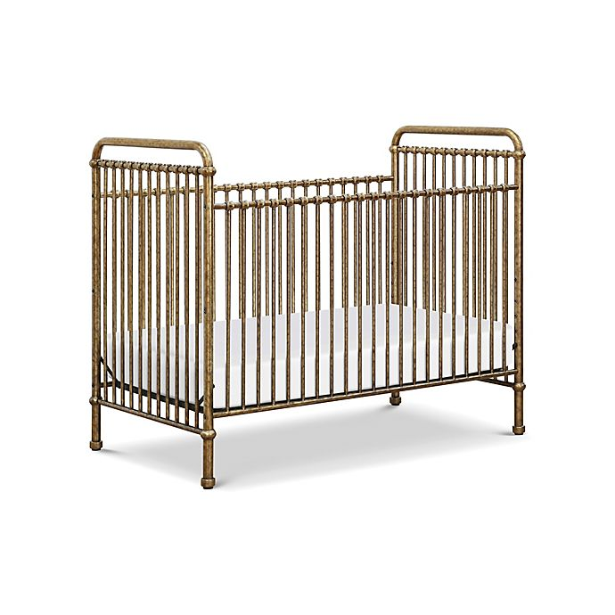 Alternate image 1 for Million Dollar Baby Classic Abigail 3-in-1 Crib in Vintage Gold