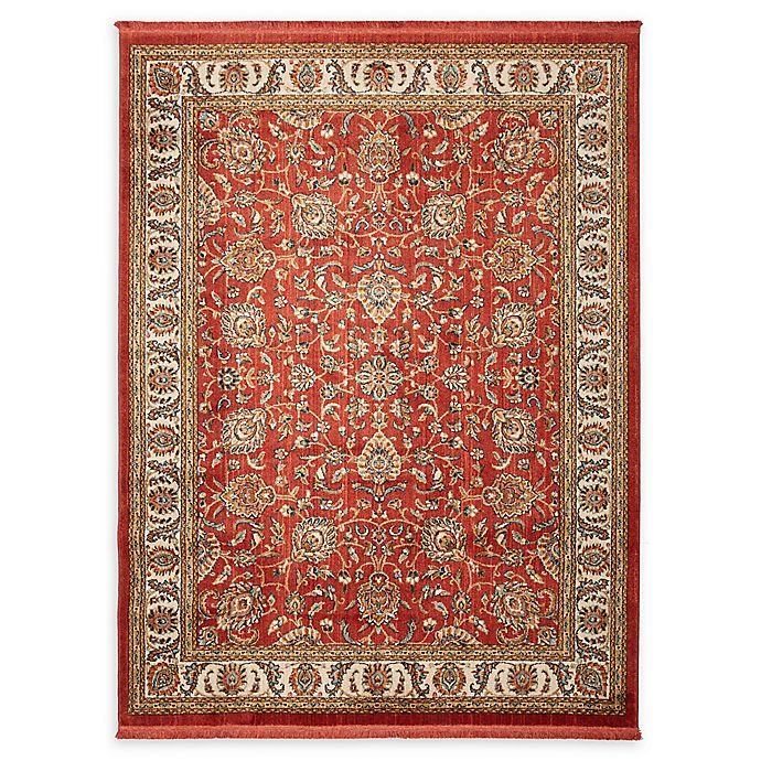 Alternate image 1 for Mohawk Home® Lafayette Rug in Garnet