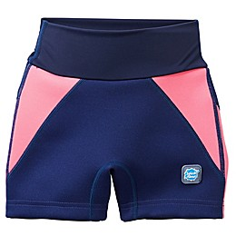 Splash About Children's Jammers in Navy/Pink