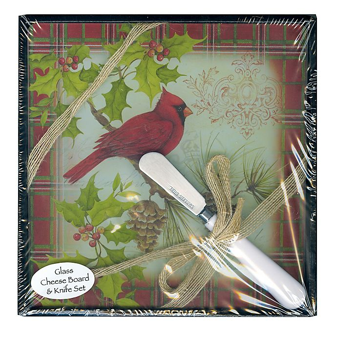 2 Piece 8 Inch X 8 Inch Cardinal Glass Cutting Board And