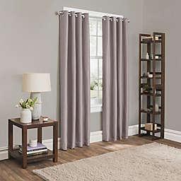 Sebastian 108-Inch Grommet 100% Blackout Window Curtain Panel in Lilac