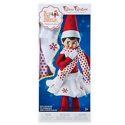 The Elf on the Shelf® Claus Couture™ Snowflake Skirt & Scarf