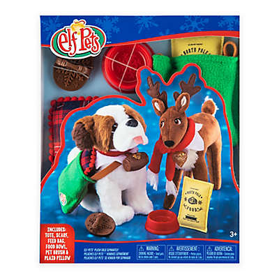The Elf on the Shelf® Claus Couture™ Elf Pets Good Tidings Toy Tote and Scarf