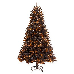 National Tree Company® North Valley® 6.5-Foot Pre-Lit Artificial Black Spruce Tree