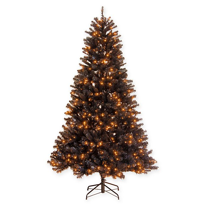 Alternate image 1 for National Tree Company® North Valley® 6.5-Foot Pre-Lit Artificial Black Spruce Tree