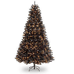 National Tree Company® North Valley Black Spruce Pre-Lit Christmas Tree with Clear Lights