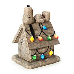 Peanuts™ 18-Inch Snoopy on House Garden Figurine