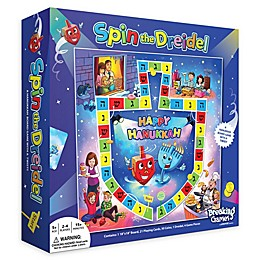 Hanukkah Spin the Dreidel Board Game