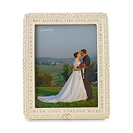 Celtic 8-Inch x 10-Inch Wedding Ceramic Frame