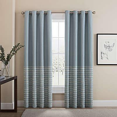 Tremor Grommet 100% Blackout Window Curtain Panel
