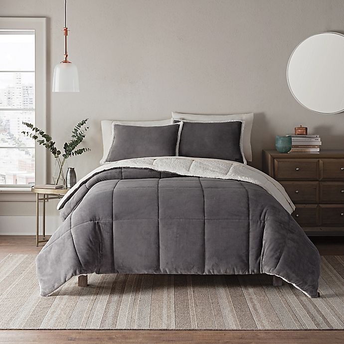 Buy Bed Set: Buy UGG® Clifton 3-Piece Reversible Full/Queen Comforter