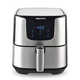 Kalorik® 3.5 qt. Stainless Steel Digital Air Fryer