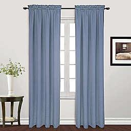 Metro Rod Pocket Window Curtain Panel (Single)