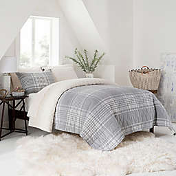 UGG® Terra Twin Quilt in Grey Plaid