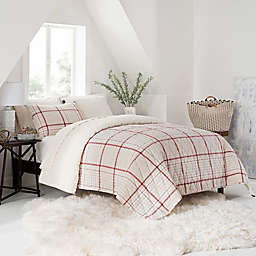 UGG® Terra Twin Quilt in Oatmeal Plaid