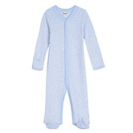 Splendid Kids Striped Footed Coverall in Blue