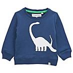Sovereign Code™ Size 6-9M Brontosaurus Crew Neck Sweatshirt in Navy
