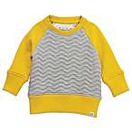 Sovereign Code™ Size 6-9M Crew Neck Sweatshirt in Yellow/Grey