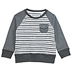Sovereign Code™ Size 3-6M Textured Stripe Sweater in Grey