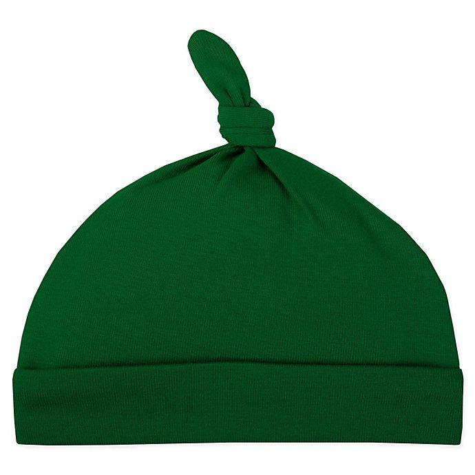 Alternate image 1 for Lamaze® Infant Knot Beanie Cap in Green