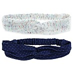 Capelli New York 2-Pack Knitted Jersey Headbands