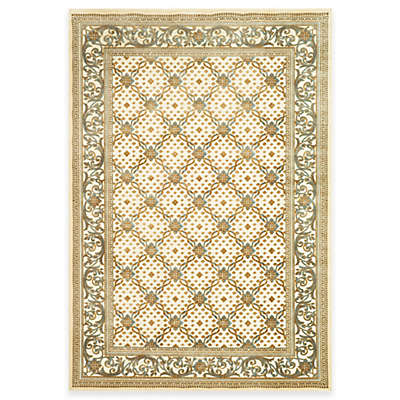Safavieh Paradise Collection Creme English Trellis Rugs